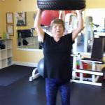 My name is Donna. My other friend that was training with Al brought me to his studio. I am a diabetic and I was hardly able to even walk yet alone get up off a chair. I have been training with Al twice a week and it has changed my life. I now have a gym membership to LA and love life again. Donna